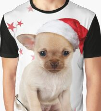 Cute Chihuahua dog in ladle Graphic T-Shirt