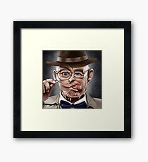 The Wacky Inspector Framed Print