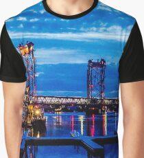 Night Bridge  Graphic T-Shirt