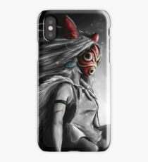 Mononoke Wolf Anime Tra Digital Painting iPhone Case