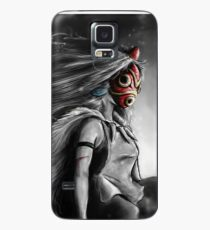 Mononoke Wolf Anime Tra Digital Painting Case/Skin for Samsung Galaxy