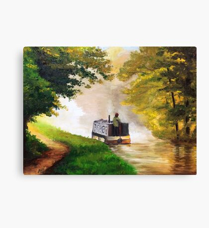Lonely Journey  Canvas Print
