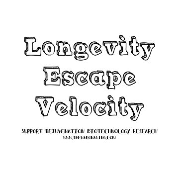 Longevity Escape Velocity by thewaronaging