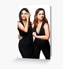 Tina Fey and Amy Poehler  Greeting Card