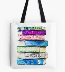 Stack of Books Tote Bag