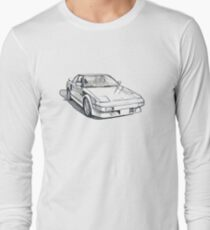 AW11 Toyota MR2 Sketch Long Sleeve T-Shirt