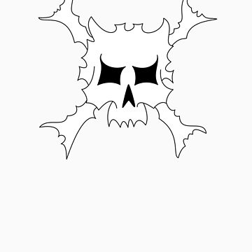 Spikey skull... by MrDeath