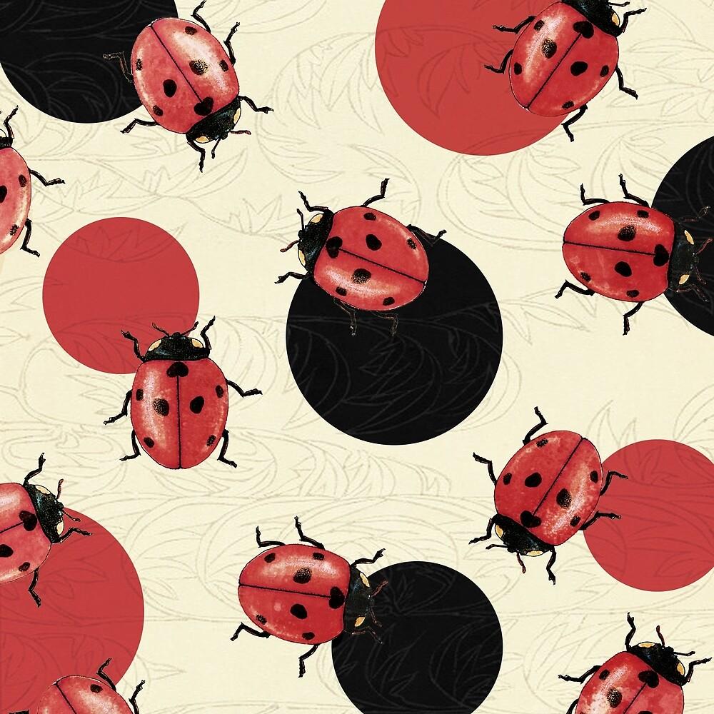 Ladybird Polka by Paula Belle Flores