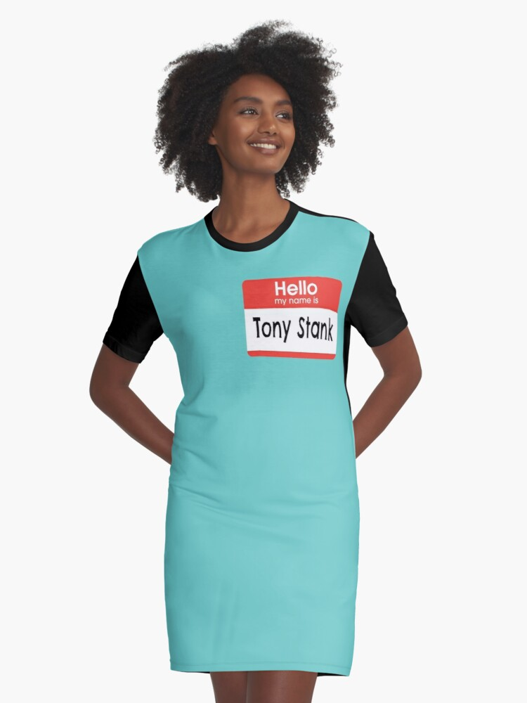 That's a bit wrong... Graphic T-Shirt Dress Front
