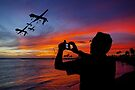 Drone Family In Their Hawaiian Vacation. by Alex Preiss