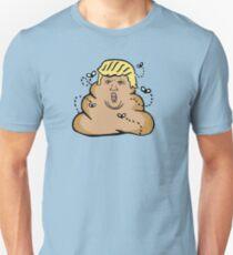 poop donald trump  Unisex T-Shirt