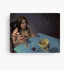 Boggled Canvas Print