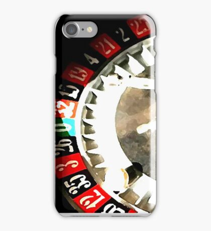 red 12 iPhone Case/Skin