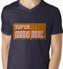 SMB Mens V-Neck T-Shirt