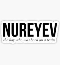 Nureyev Sticker