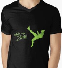 DARE TO ZLATAN Men's V-Neck T-Shirt