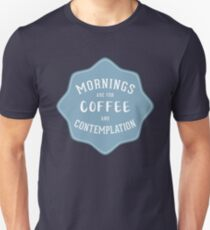 Stranger Things: Mornings are for Coffee and Contemplation T-Shirt