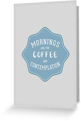 Stranger Things: Mornings are for Coffee and Contemplation by mawalie