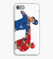 Rougned Odor vs Jose Bautista Fight iPhone Case/Skin