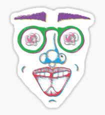 rose eyes color Sticker