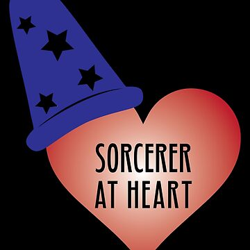 Sorcerer at Heart by atheartdesigns