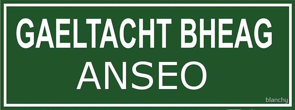 Gaeltacht Bheag Anseo by blanchy