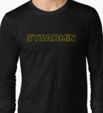 Systems Administrator Long Sleeve T-Shirt