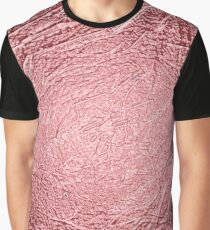 Rose Gold Texture Graphic T-Shirt