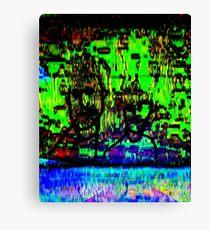 green dudes Canvas Print