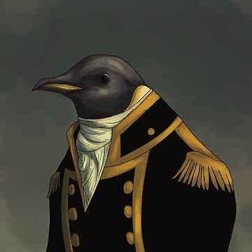 Captain Penguin  by Darthblueknight