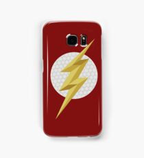 The fastest man alive - Flash Samsung Galaxy Case/Skin