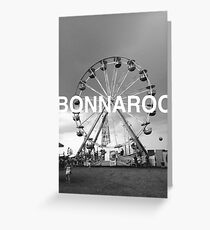 Bonnaroo Ferris Wheel Greeting Card