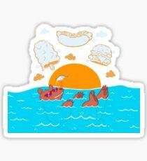 Summer Soak Sticker