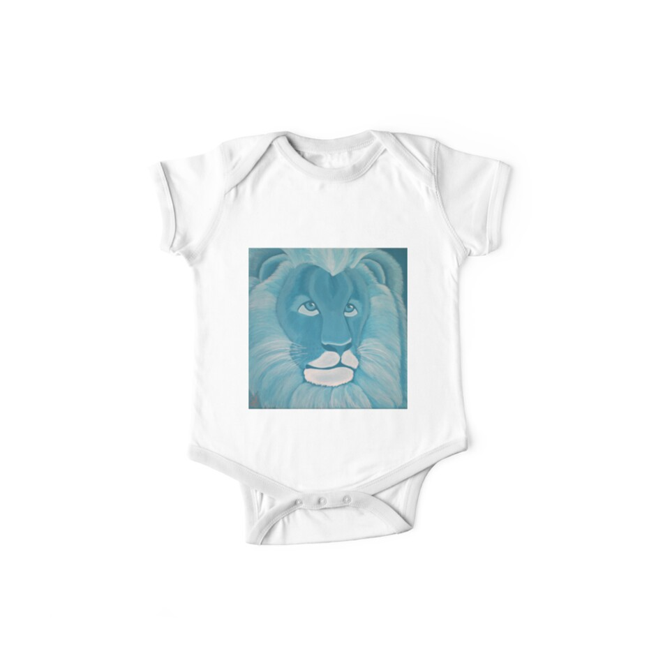 'Turquoise Lion' Kids Clothes