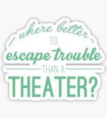 Escape-Probleme Sticker