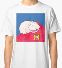 Hippopotamus on Our Roof Classic T-Shirt