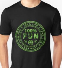 100% Fun Marijuana Stamp T-Shirt