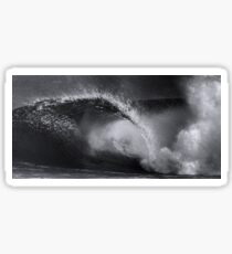 Winter Waves At Pipeline 19 Sticker