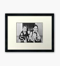 Little Rascals Swagger Framed Print