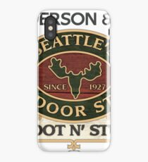 Seattle's Outdoor Store iPhone Case