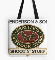 Seattle's Outdoor Store Tote Bag