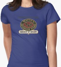 Seattle's Outdoor Store Womens Fitted T-Shirt