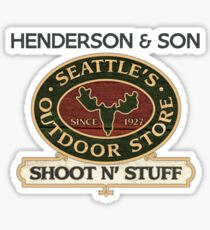 Seattle's Outdoor Store Sticker