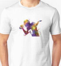 american football player quarterback passing portrait Unisex T-Shirt