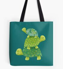 Turtle Stack Tote Bag