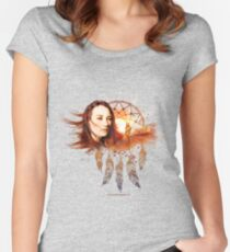 Scarlet's Walk Design from ToriAmosDiscography.info Women's Fitted Scoop T-Shirt