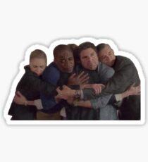 Psych Group Hug Sticker