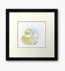 Ninetales Alola+normal Framed Print