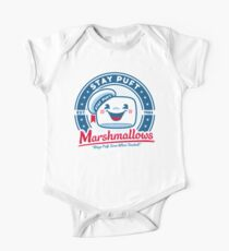Marshmallows Short Sleeve Baby One-Piece
