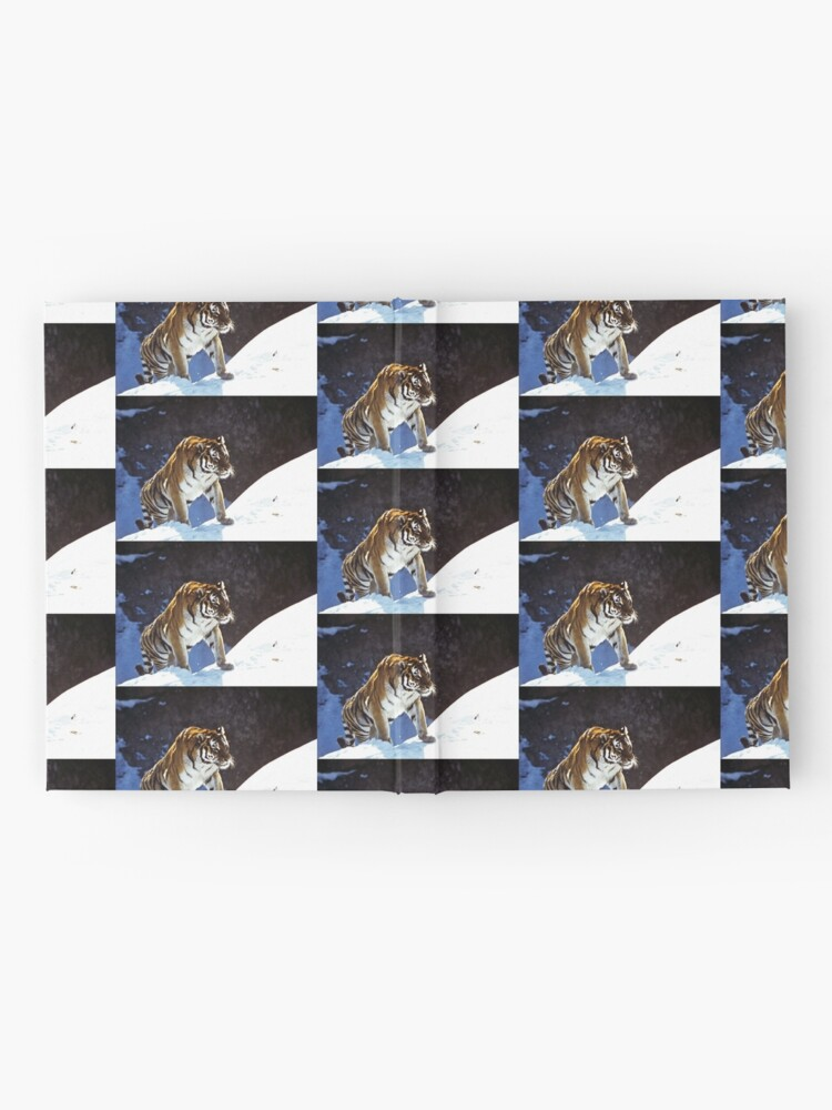 Alternate view of Travelling Tiger Hardcover Journal